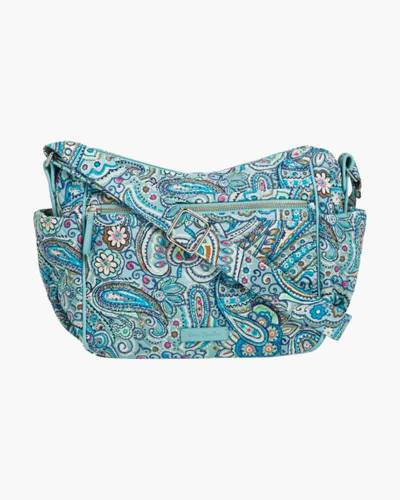Iconic On the Go Crossbody in Daisy Dot Paisley