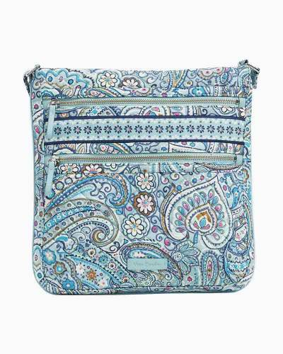 Iconic Triple Zip Hipster in Daisy Dot Paisley