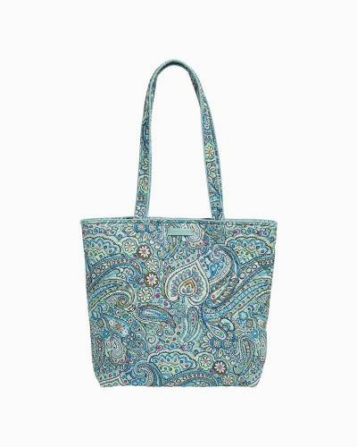 Iconic Tote Bag in Daisy Dot Paisley