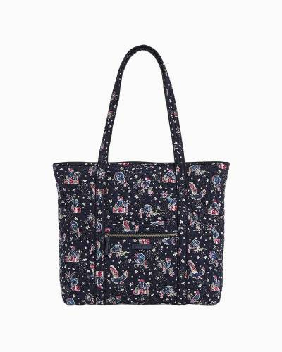 Iconic Vera Tote in Holiday Owls