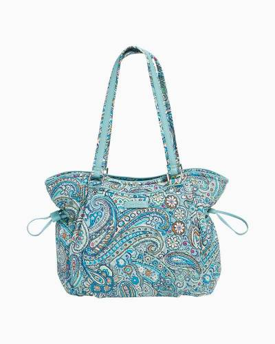 Iconic Glenna Satchel in Daisy Dot Paisley