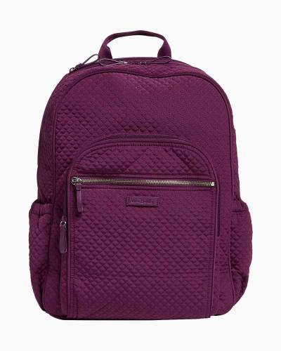 Iconic Campus Backpack in Microfiber Gloxinia Purple