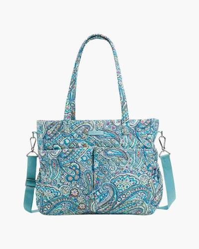Iconic Ultimate Diaper Bag in Daisy Dot Paisley