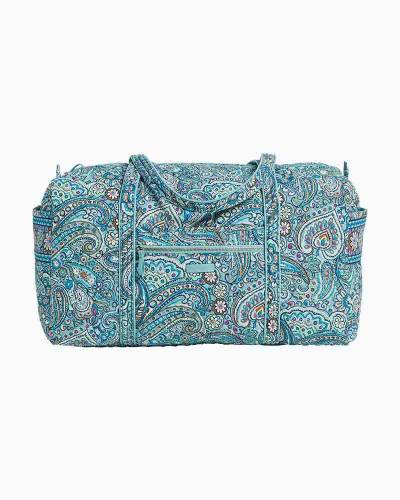 Vera Bradley Iconic Large Travel Duffel in Daisy Dot Paisley bf48373eb114d