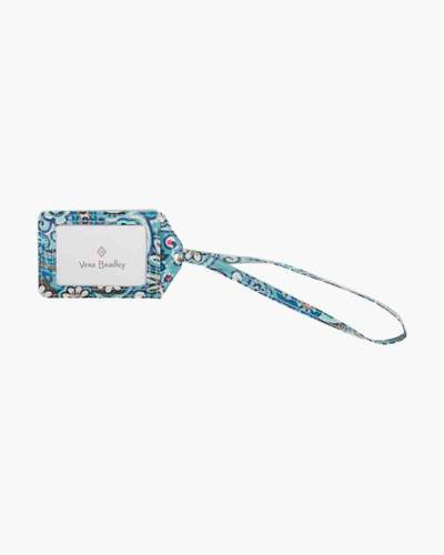 Iconic Luggage Tag in Daisy Dot Paisley
