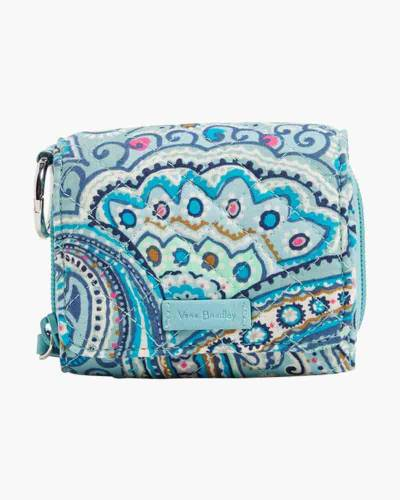 Iconic RFID Card Case in Daisy Dot Paisley