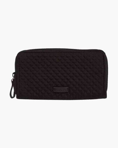 Iconic RFID Georgia Wallet in Classic Black