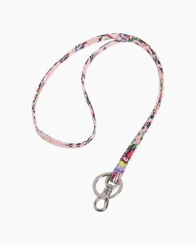 Lanyard in Stitched Flowers