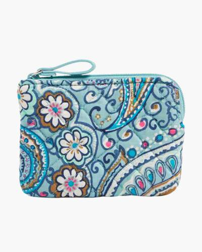 Iconic Coin Purse in Daisy Dot Paisley