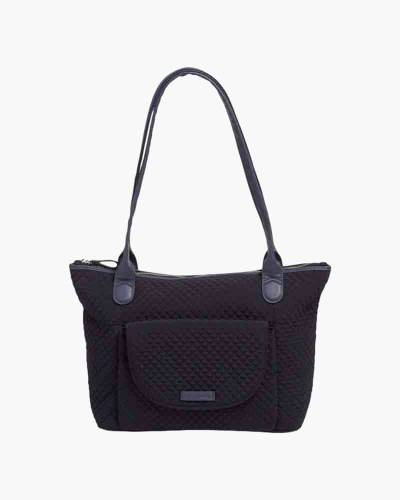 Carson East West Tote in Microfiber Classic Navy