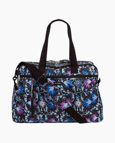 Lighten Up Weekender Travel Bag in Bramble Vines