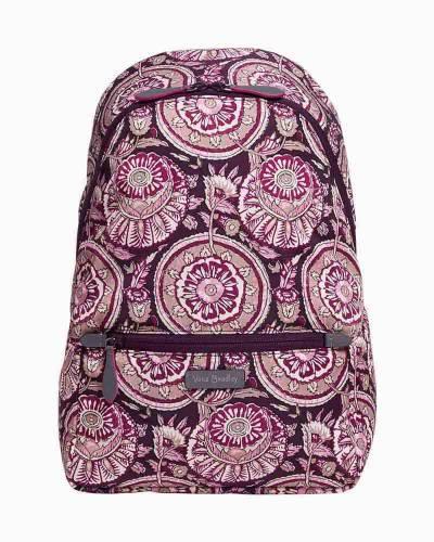 Midtown Convertible Backpack in Lei Flowers
