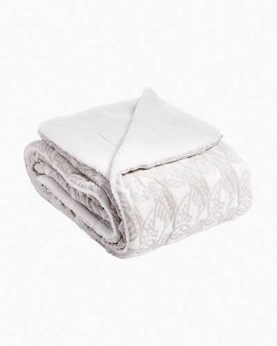 Cozy Life Throw Blanket in Night Owls Gray