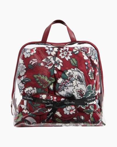 Travel Gift Set in Bordeaux Blooms