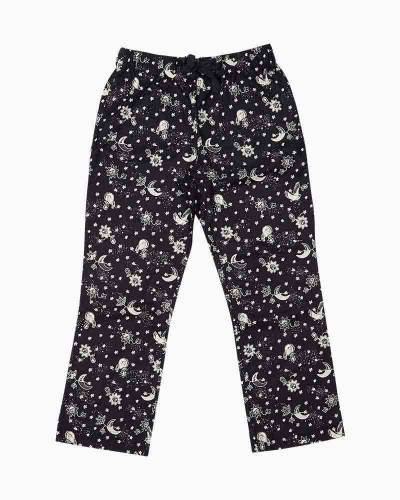 Flannel Pajama Pants in Night Sky