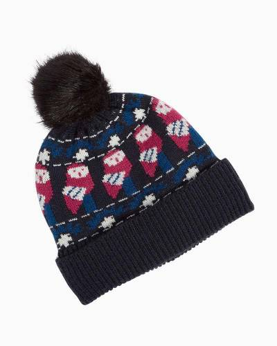 Cozy Hat in Night Owls