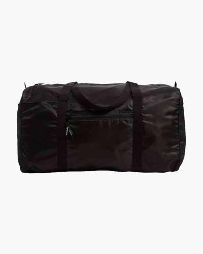 Packable Duffel Travel Bag in Black