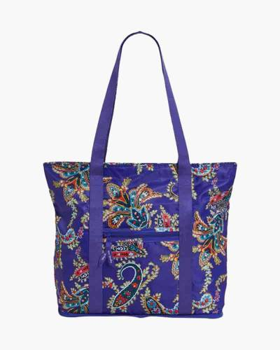 7e2480420b Vera Bradley Packable Tote in Paisley Swirls
