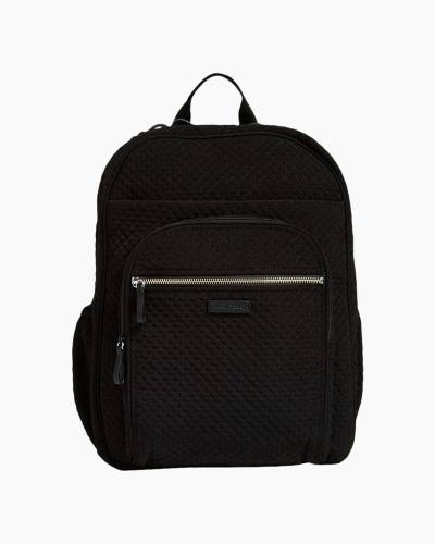 Iconic XL Campus Backpack in Microfiber Classic Black