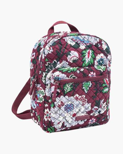 Leighton Backpack in Bordeaux Blooms