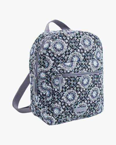 Leighton Backpack in Charcoal Medallion