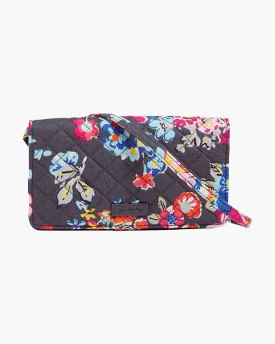 Iconic RFID All Together Crossbody in Pretty Posies