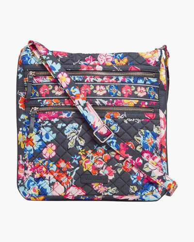 Iconic Triple Zip Hipster in Pretty Posies