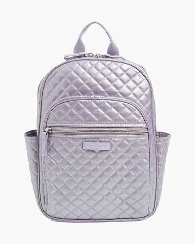 Iconic Small Backpack in Lavender Pearl
