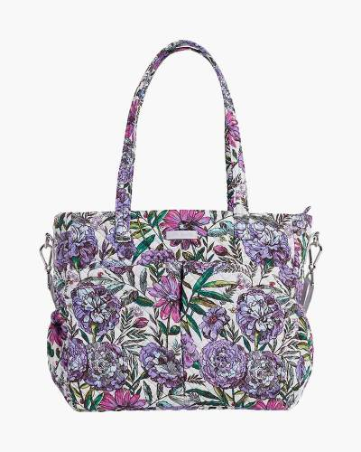 Iconic Ultimate Diaper Bag in Lavender Meadow