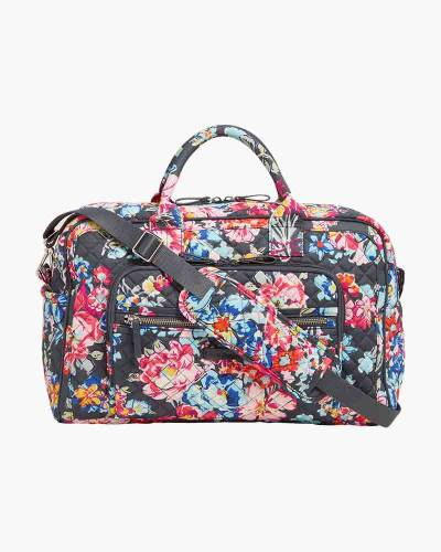 Iconic Compact Weekender Travel Bag in Pretty Posies