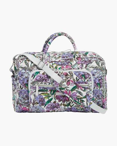 Iconic Compact Weekender Travel Bag in Lavender Meadow