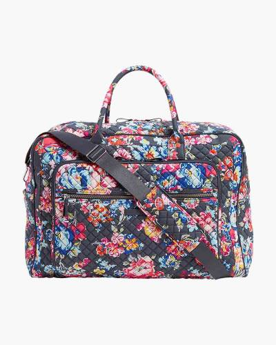 Vera Bradley Iconic Grand Weekender Travel Bag in Pretty Posies b1b50ced08e08