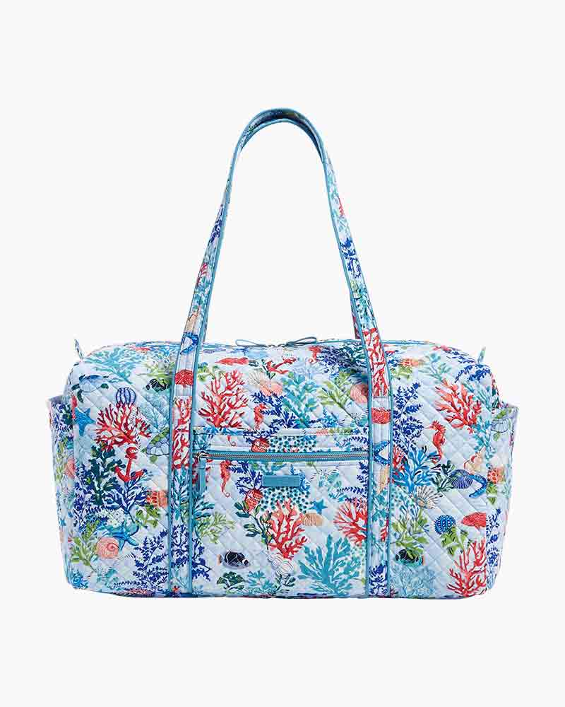 Iconic Large Travel Duffel in Vera Signature Shore Thing Alternate View 34eec84b16655