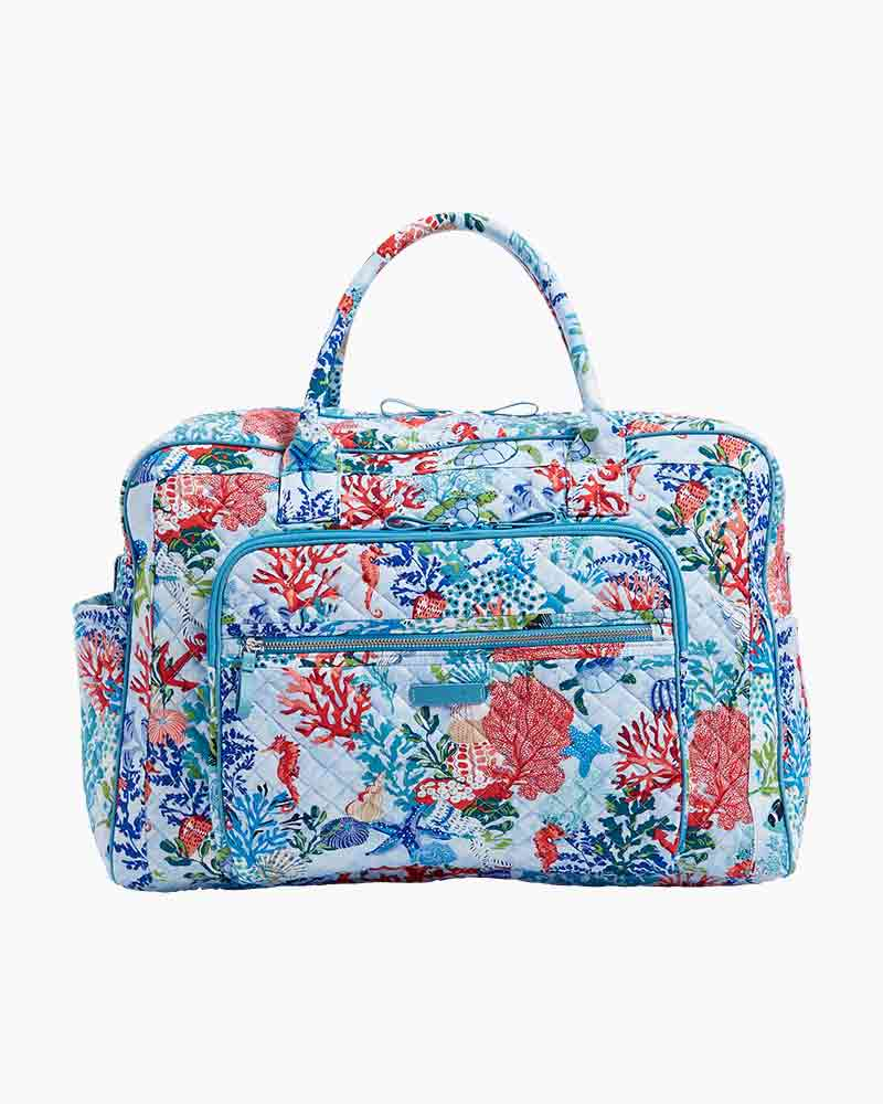 Iconic Weekender Travel Bag in Vera Signature Shore Thing Alternate View 32cde76a4ff4a