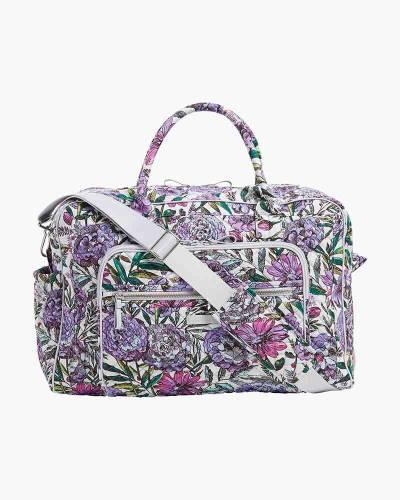 Iconic Weekender Travel Bag in Lavender Meadow