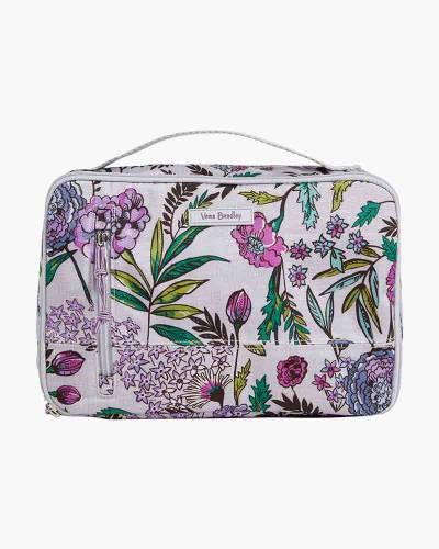 Large Blush and Brush Case in Lavender Botanical