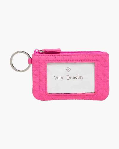 4de69fd3f264 Iconic Zip ID Case in Rose Petal. Vera Bradley
