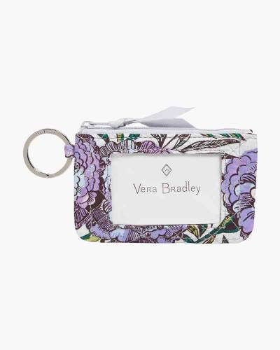 Iconic Zip ID Case in Lavender Meadow