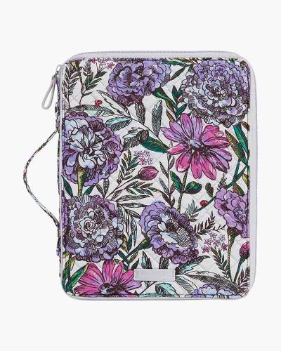 Iconic Tablet Tamer Organizer in Lavender Meadow