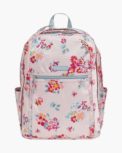 Lighten Up Grand Backpack in Tossed Posies Pink