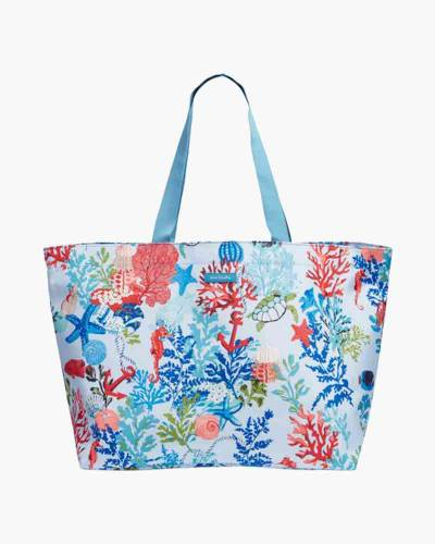 Lighten Up Large Family Tote in Shore Thing