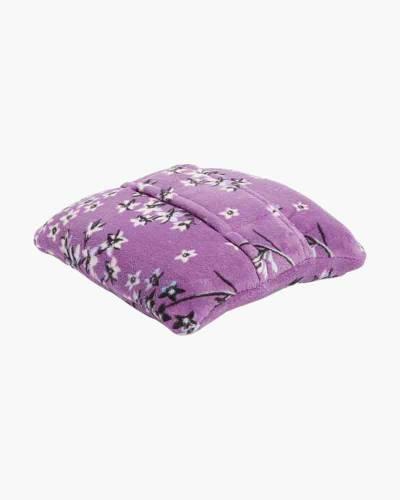 Fleece Travel Blanket in Lavender Dandelion