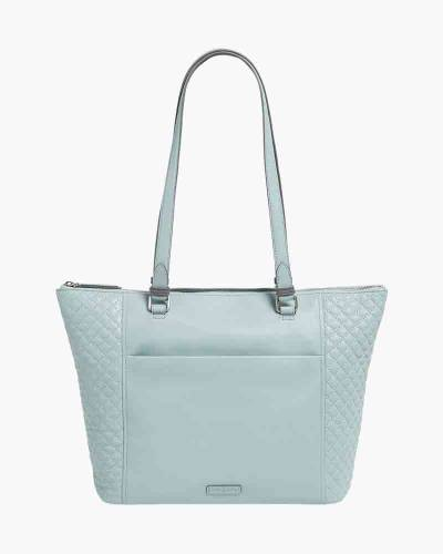 Carryall Small Tote in Dusty Blue
