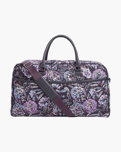 Iconic Lay Flat Duffel Bag in Lavender Bouquet