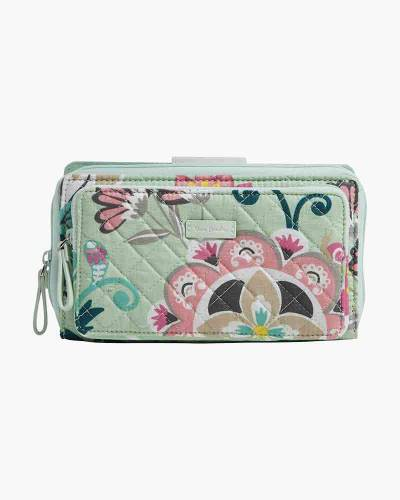 Iconic Deluxe All Together Crossbody in Mint Flowers