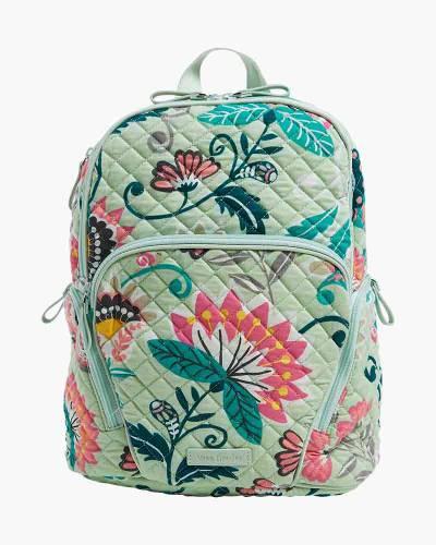 Hadley Backpack in Mint Flowers