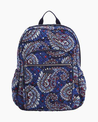485a9ceb4 Vera Bradley Iconic Campus Backpack in Fireworks Paisley