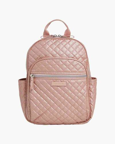 Iconic Small Backpack in Rose Quartz