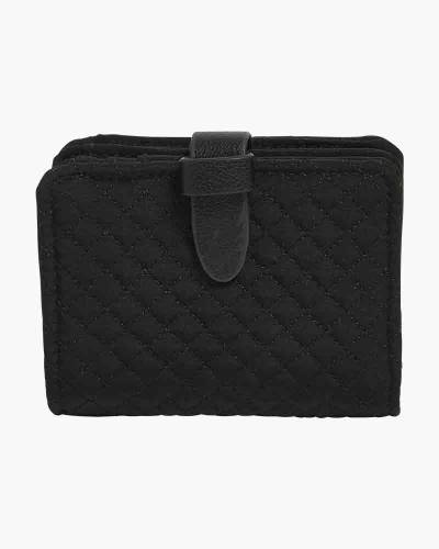 Iconic RFID Small Wallet in Classic Black