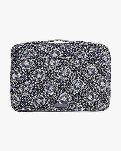 Iconic Laptop Organizer in Charcoal Medallion